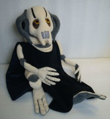 General Grievous You send us image we make a custom soft toy for you!