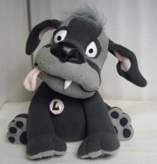 Lou the dog You send us image we make a custom soft toy for you!