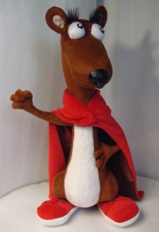 The Mighty Weasel You send us image we make a custom soft toy for you!