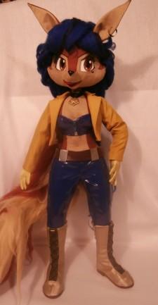Carmelita Fox You send us image we make a custom soft toy for you!