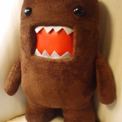 Domo creative plush toy You send us image we make a custom soft toy for you!