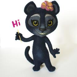 Viber pantera - custom toy You send us image we make a custom soft toy for you!