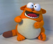 Cat from Viber You send us image we make a custom soft toy for you!