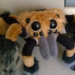 Creepy Spider You send us image we make a custom soft toy for you!