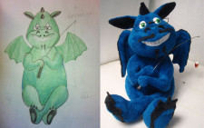 Sketch to plush - make you own plush toy based on sketch or drawing! You send us image we make a custom soft toy for you!