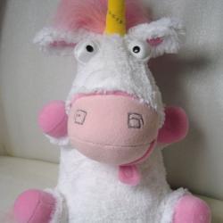 fluffy plush