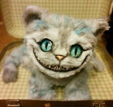 Cheshire Cat You send us image we make a custom soft toy for you!