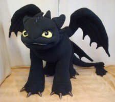 Toothless the Dragon You send us image we make a custom soft toy for you!