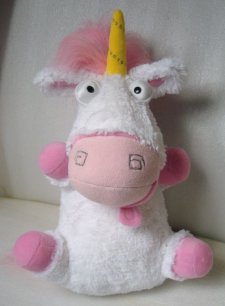 Unicorn Fluffy (Despicable Me) You send us image we make a custom soft toy for you!