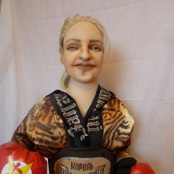 TV Star caricature doll You send us image we make a custom soft toy for you!