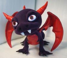 Spyro Dragon You send us image we make a custom soft toy for you!