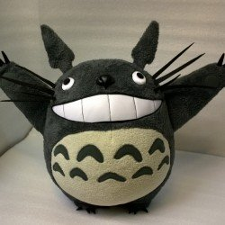 Flying Totoro plush You send us image we make a custom soft toy for you!