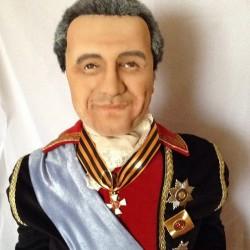 politician portrait doll