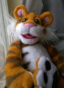 Rugby Tiger: child's dream You send us image we make a custom soft toy for you!