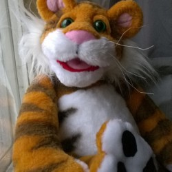 Rugby Tiger plush toy