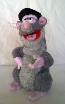 Rattus Rattus plush (Horrible histories) You send us image we make a custom soft toy for you!