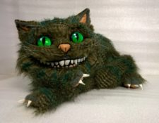 New Cheshire Cat You send us image we make a custom soft toy for you!