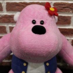 Pink Gorilla Bopyo You send us image we make a custom soft toy for you!
