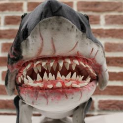 Shark Jaws 2 Plush You send us image we make a custom soft toy for you!