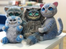 Cheshiromania (Cheshire cats) You send us image we make a custom soft toy for you!