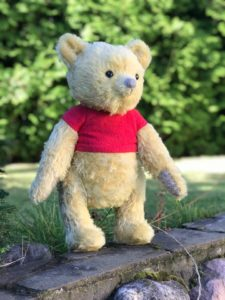 Winnie the Pooh ( Christopher Robin) You send us image we make a custom soft toy for you!