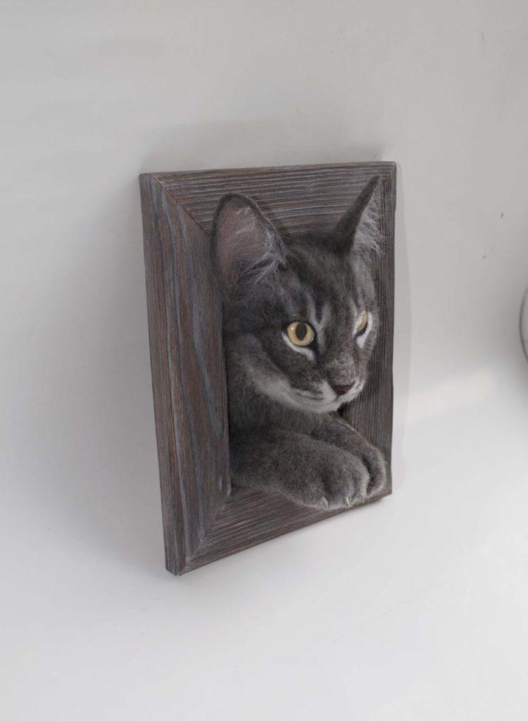 Memorial Pet's 3D Portrait You send us image we make a custom soft toy for you!